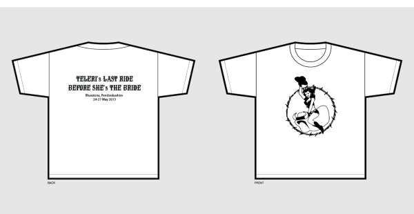 Hen Do T Shirt Layout