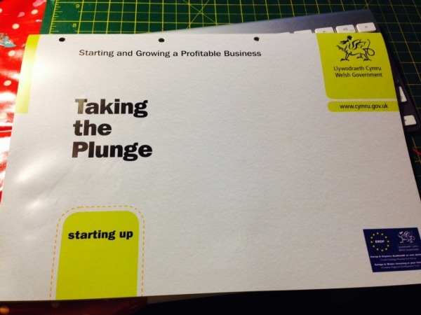Taking the Plunge - Workbook from Business Wales