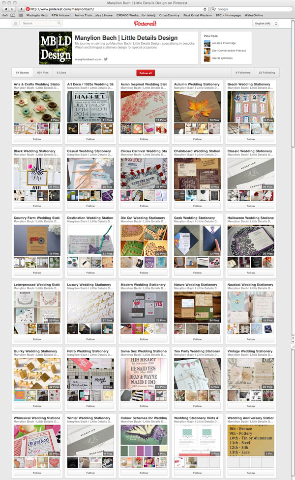 Manylion Bach | Little Details Design now on Pinterest!