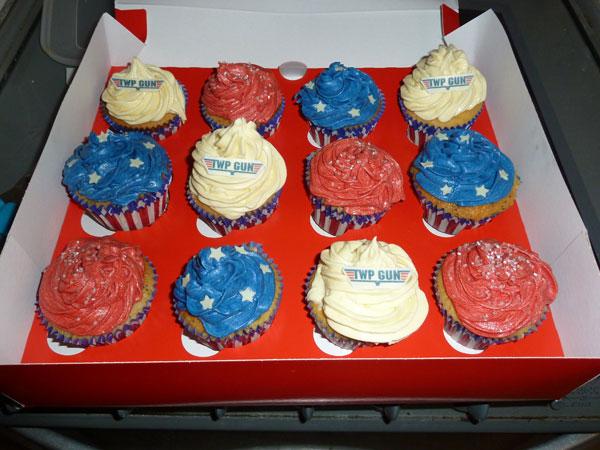 Twp Gun Birthday Cakes