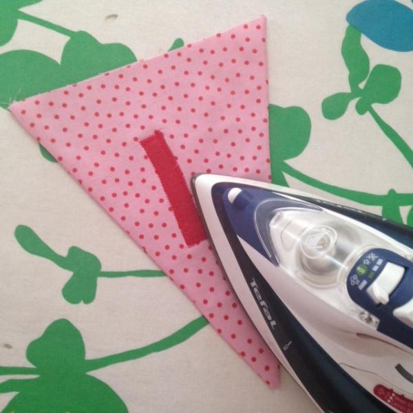 Ironing pennants