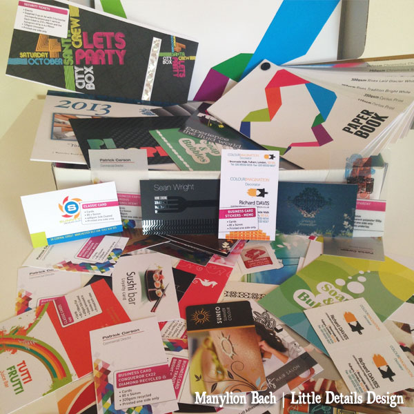 Exaprint Box - Catalogue, samples and paper stock book
