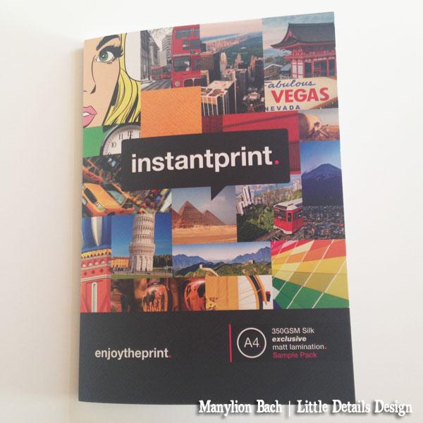 Instaprint Sample Pack