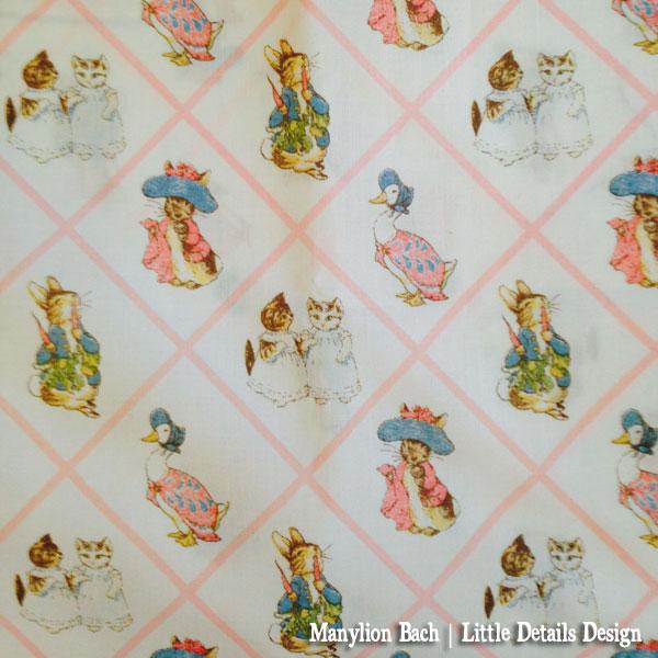 Vintage Beatrix Potter Fabric